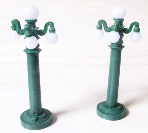 Walt Disney Parks Main Street Light Posts Monorail Toy Accessories