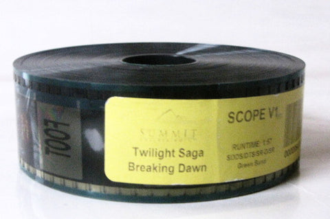 Twilight Breaking Dawn Pt. 1 Movie Summit Entertainment Trailer 35mm Film