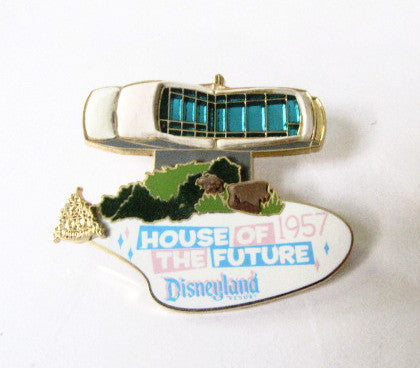 Disney 2005 Disneyland House Of The Future Magical Milestones Pin