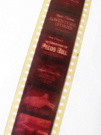Walt Disney Vintage 1950's Adventures Of Pecos Bill 35mm Film