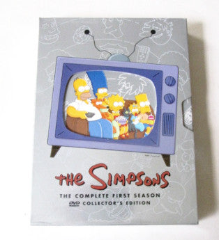 The Simpsons Season 1 Twentieth Century Fox DVD Collectors Set