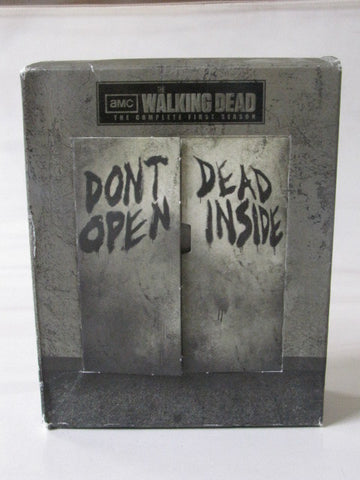 The Walking Dead AMC TV Series Complete First Season Blu-ray 3 Disc Set