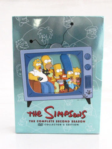 The Simpsons Season 2 Twentieth Century Fox DVD Collectors Set