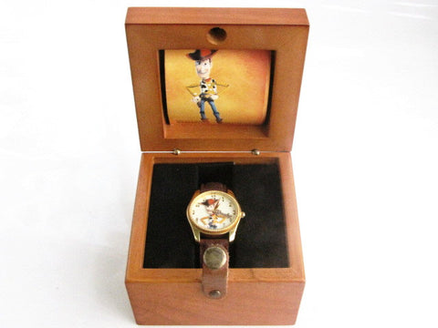 Walt Disney Gallery LE Toy Story 2 Woody Wrist Watch