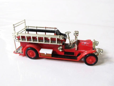 Walt Disney World Retired Main St. Fire Department Engine Toy Car