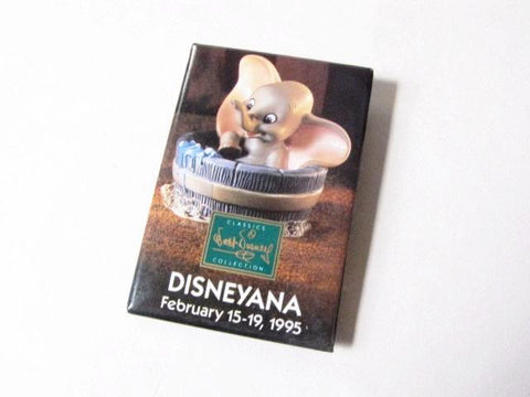 Disneyana Convention 1995 Dumbo WDCC Pinback Button
