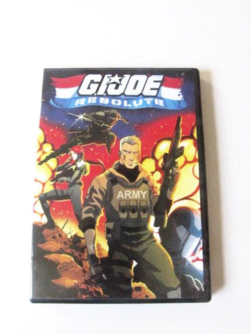 G.I. Joe: Resolute 2009 Paramount Pictures Animated Movie DVD
