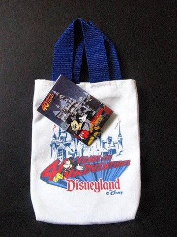 Disneyland 40th Anniversary 1995 Miniature Tote & Pinback Button