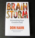 Brain Storm: Unleashing Your Creative Self 2011 Disney Don Hahn Book