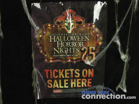 Halloween Horror Nights XXV Universal Orlando 2015 Jack The Clown Prop Decal