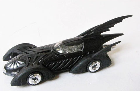Batman Forever Movie Batmobile Hot Wheels Die Cast Toy Car
