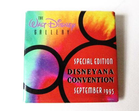 Walt Disney Gallery Disneyana Convention 1995 Special Edition Button