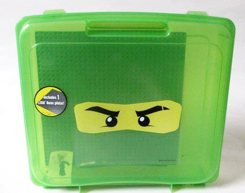 Ninjago 2011 LEGO Transparent Green Project Case & Base