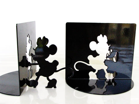 Disney Retired Minnie Mouse Black Mickey & CO. Moller Bookends