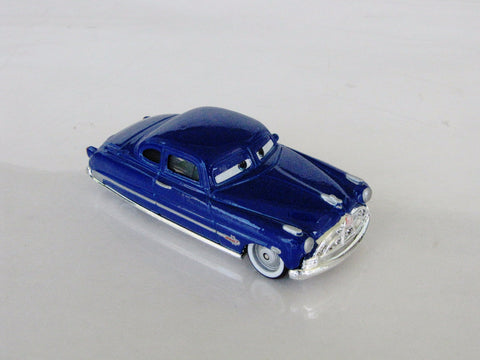 Disney Retired Hudson Hornet World Of Cars Die Cast Toy