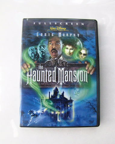 Walt Disney Pictures 2003 The Haunted Mansion Movie Fullscreen Edition DVD