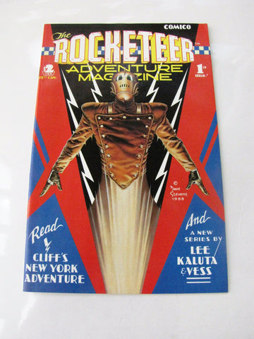 The Rocketeer Adventure Magazine No. 1 COMICO 1988 Comic Book