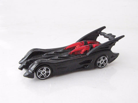 DC Comics 2012 Batman Batmobile Affinity Hot Wheels Die Cast Toy Car