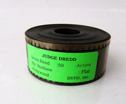 Judge Dredd 1995 BVP Movie Trailer 35mm Film