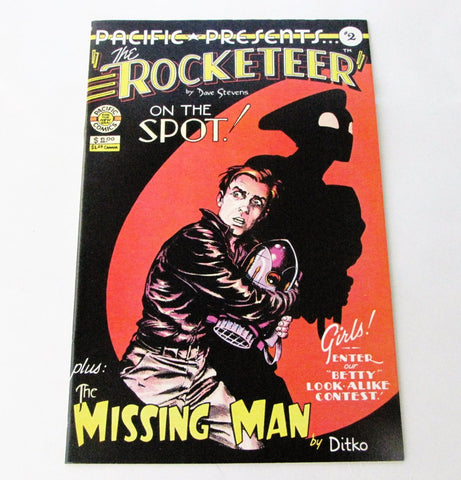 Pacific Comics 1983 The Rocketeer #2 Comic Book