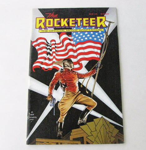 The Rocketeer Official Movie Adaptation 1991 Disney Graphic Novel