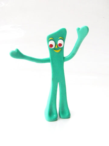 "Prema Toy Co. 2008 Gumby 5.75"" Posable Figure"