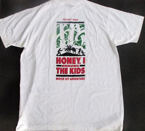 Disney World 1990 Honey, I Shrunk The Kids: Movie Set Adventure MGM Studios Cast T-Shirt