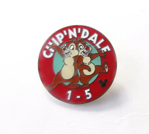 Walt Disney World 2005 Chip & Dale MK Parking Sign Pin