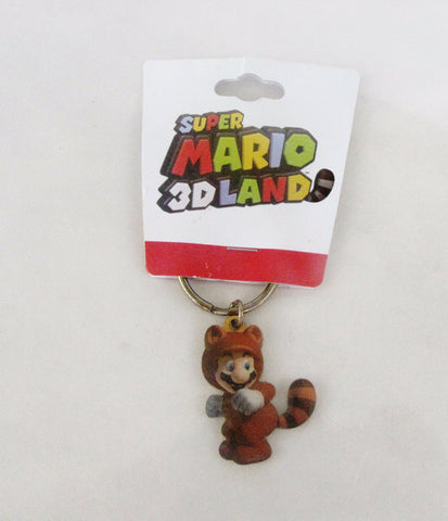 Super Mario 3D Land 2011 Gamestop Exclusive Tanooki Nintendo Keychain