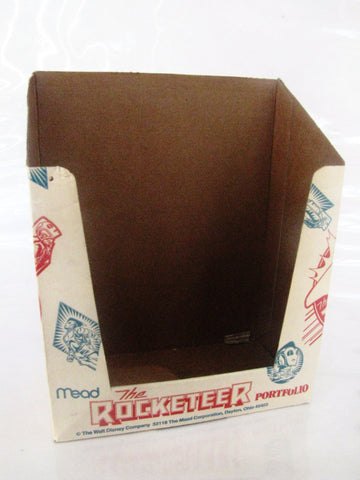 Disney 1991 The Rocketeer Movie Mead Portfolio Store Display