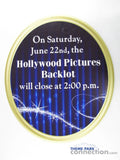 Disneyland California Adventure Hollywood Pictures Backlot Park Sign Prop