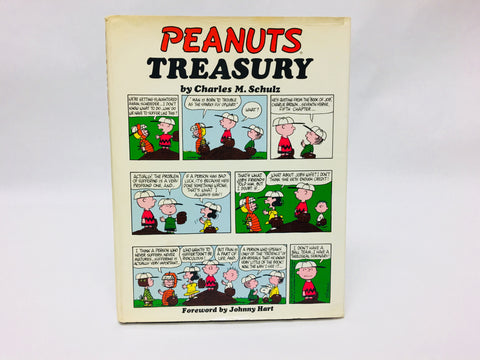 Vintage 1968 Peanuts Treasury First Edition Hardcover Comics Book