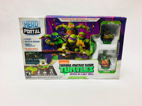 Teenage Mutant Ninja Turtles Heroes in a Half Shell Complete Gaming System