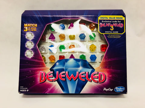 Hasbro Gaming Bejeweled Family Board Game