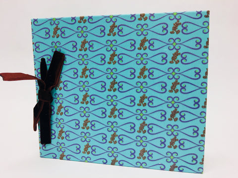 Disney Theme Parks Gold Mickey Teal Photo Album