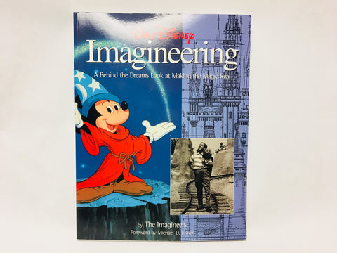 Walt Disney Imagineering A Behind the Dreams Look at Making the Magic Real Paperback Book