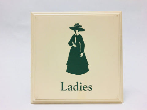 Disney's Grand Floridian Resort & Spa Ladies Restroom Sign Prop Display