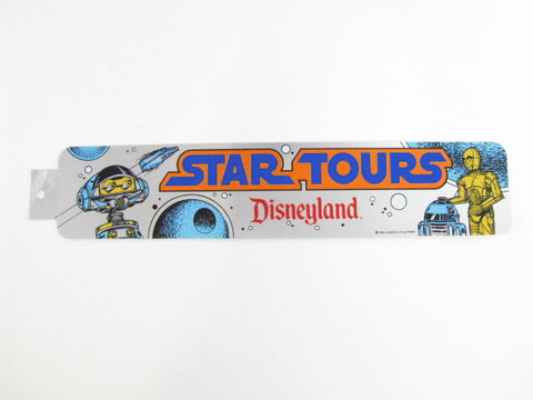 Vintage Star Tours Disneyland Bumper Sticker