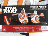Star Wars The Force Awakens BB-8 Hooded Poncho