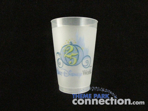 Walt Disney World Resort 25th Anniversary Souvenir Cup