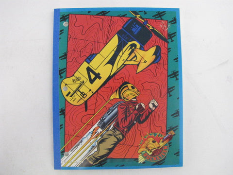 "Disney 1991 The Rocketeer Movie Mead ""Neatbook"" Notebook"