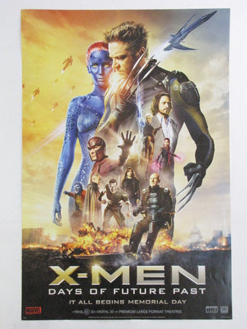 X-MEN DAYS OF FUTURE PAST 2014 Theatrical Promo Exclusive Movie Poster