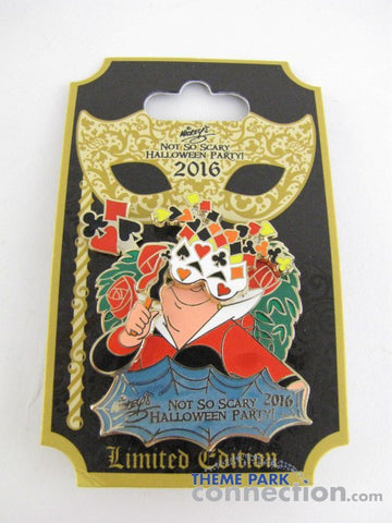 Mickey's Not So Scary Halloween Party 2016 Queen Of Hearts LE Pin