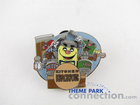Epcot 30th Reveal Conceal Kitchen Kabaret Krackpots Pin