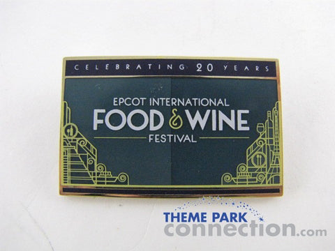 Epcot International Food & Wine 2015 Discovery Sampler GWP Pin