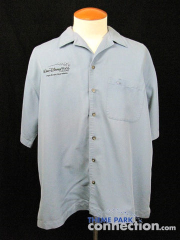 Walt Disney World Management Cast Member Exclusive Park Event Operations Embroidered Shirt