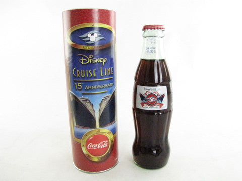 Disney Cruise Line 15th Anniversary Coca-Cola Bottle