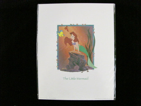 Walt Disney Art Classics The Little Mermaid Ariel Print