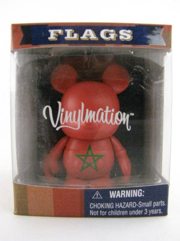 "Disney 3"" Vinylmation Flags Series MOROCCO Epcot World Showcase Figure"