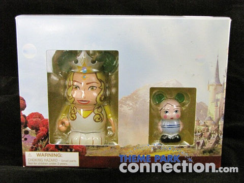 "Disney OZ The Great & Powerful GLINDA Good Witch & China Girl 3"" Vinylmation & JR. 2 Figure Set"